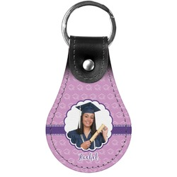 Graduation Genuine Leather  Keychains (Personalized)