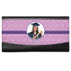 Graduation Genuine Leather Ladies Wallet (Personalized)