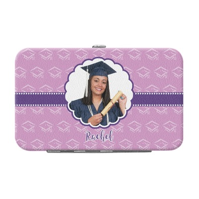 Graduation Genuine Leather Small Framed Wallet (Personalized)