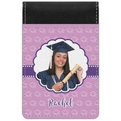 Graduation Genuine Leather Small Memo Pad (Personalized)
