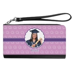 Graduation Genuine Leather Smartphone Wrist Wallet (Personalized)