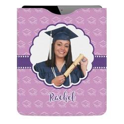 Graduation Genuine Leather iPad Sleeve (Personalized)