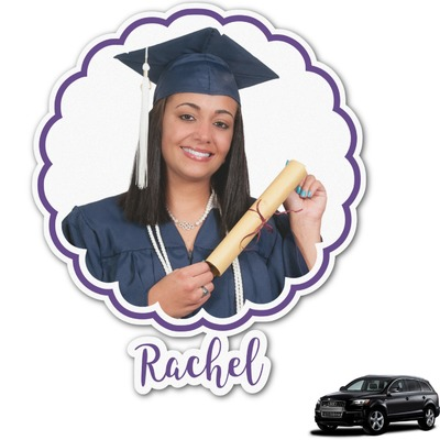 Graduation Graphic Car Decal (Personalized)