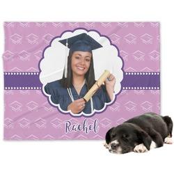 Graduation Minky Dog Blanket (Personalized)
