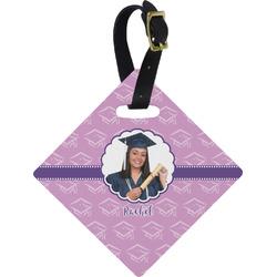 Graduation Diamond Luggage Tag (Personalized)