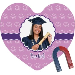 Graduation Heart Fridge Magnet (Personalized)