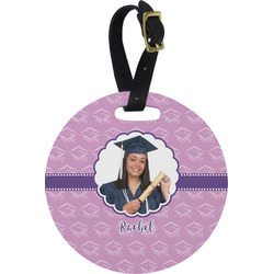 Graduation Round Luggage Tag (Personalized)