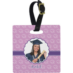 Graduation Square Luggage Tag (Personalized)