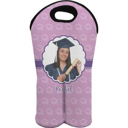 Graduation Wine Tote Bag (2 Bottles) (Personalized)