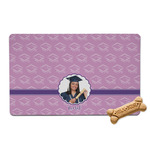 Graduation Pet Bowl Mat (Personalized)
