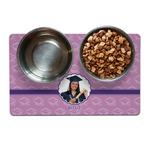 Graduation Pet Bowl Mat (Personalized)