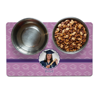 Graduation Dog Food Mat (Personalized)