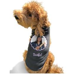 Graduation Black Pet Shirt - XL (Personalized)
