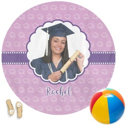 Graduation Round Beach Towel (Personalized)