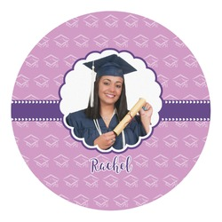 Graduation Round Decal (Personalized)
