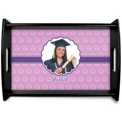 Graduation Black Wooden Tray (Personalized)