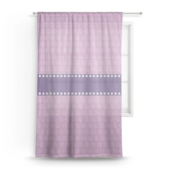Graduation Sheer Curtains (Personalized)