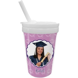 Graduation Sippy Cup with Straw (Personalized)