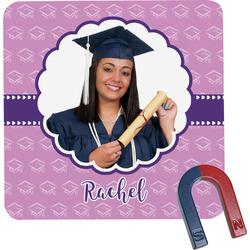 Graduation Square Fridge Magnet (Personalized)