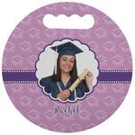 Graduation Stadium Cushion (Round) (Personalized)