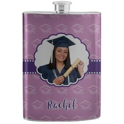 Graduation Stainless Steel Flask (Personalized)