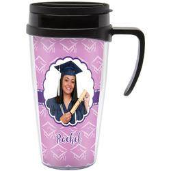 Graduation Travel Mug with Handle (Personalized)