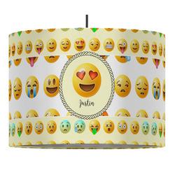 Emojis Drum Pendant Lamp (Personalized)