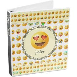 Emojis 3-Ring Binder (Personalized)