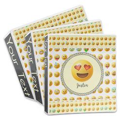 Emojis 3-Ring Binder (Personalized)