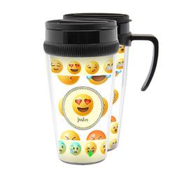 Emojis Acrylic Travel Mugs (Personalized)