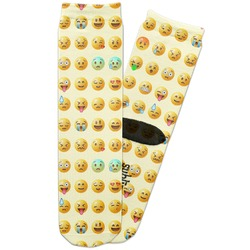 Emojis Adult Crew Socks (Personalized)