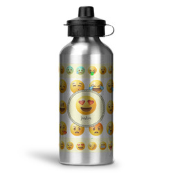 Emojis Water Bottle - Aluminum - 20 oz (Personalized)