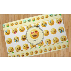 Emojis Area Rug (Personalized)