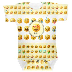 Emojis Baby Bodysuit (Personalized)