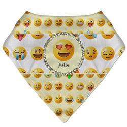 Emojis Bandana Bib (Personalized)