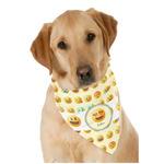 Emojis Dog Bandana Scarf w/ Name or Text
