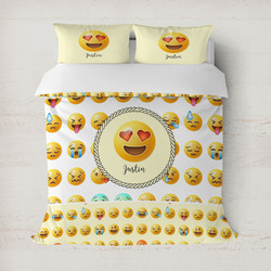 Emojis Duvet Cover (Personalized)