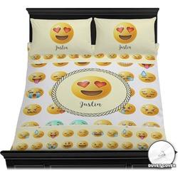 Emojis Duvet Cover Set (Personalized)