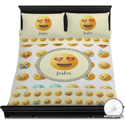 Emojis Duvet Cover Set (Personalized)