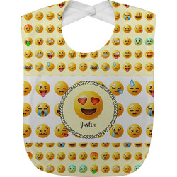 Emojis Baby Bib (Personalized)