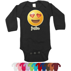 Emojis Bodysuit - Black (Personalized)