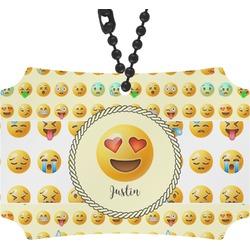 Emojis Rear View Mirror Ornament (Personalized)