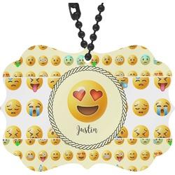 Emojis Rear View Mirror Decor (Personalized)