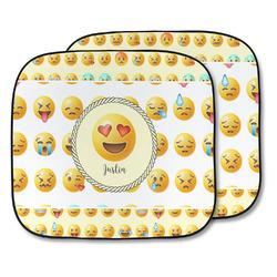 Emojis Car Sun Shade - Two Piece (Personalized)