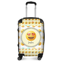 """Emojis Suitcase - 20"""" Carry On (Personalized)"""