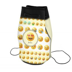 Emojis Neoprene Drawstring Backpack (Personalized)