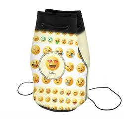 Emojis Neoprene Drawstring Backpack (Personalized)