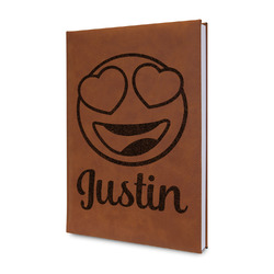 Emojis Leatherette Journal (Personalized)