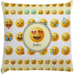 Emojis Decorative Pillow Case (Personalized)