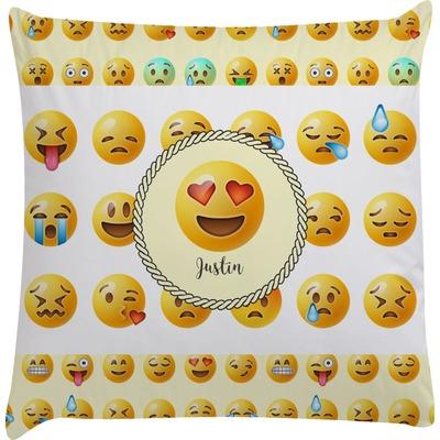 Emojis Decorative Pillow Case (Personalized)